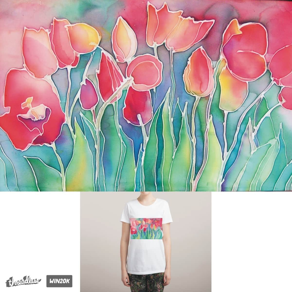 tulips by Inna1976 on Threadless