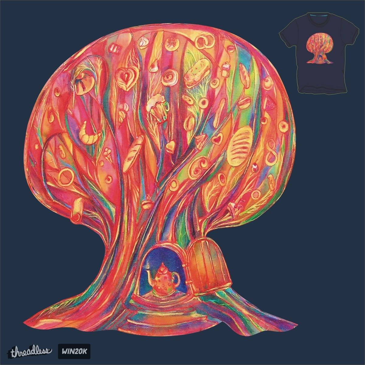 breadfruit tree by Inna1976 on Threadless