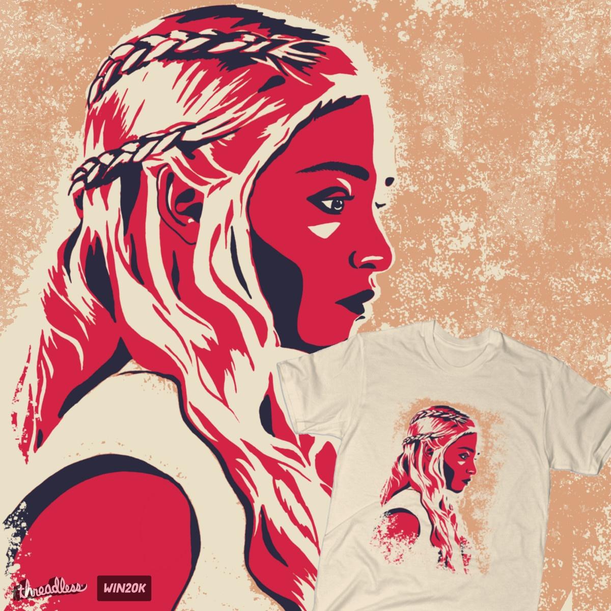 Khaleesi by EvelynRad on Threadless