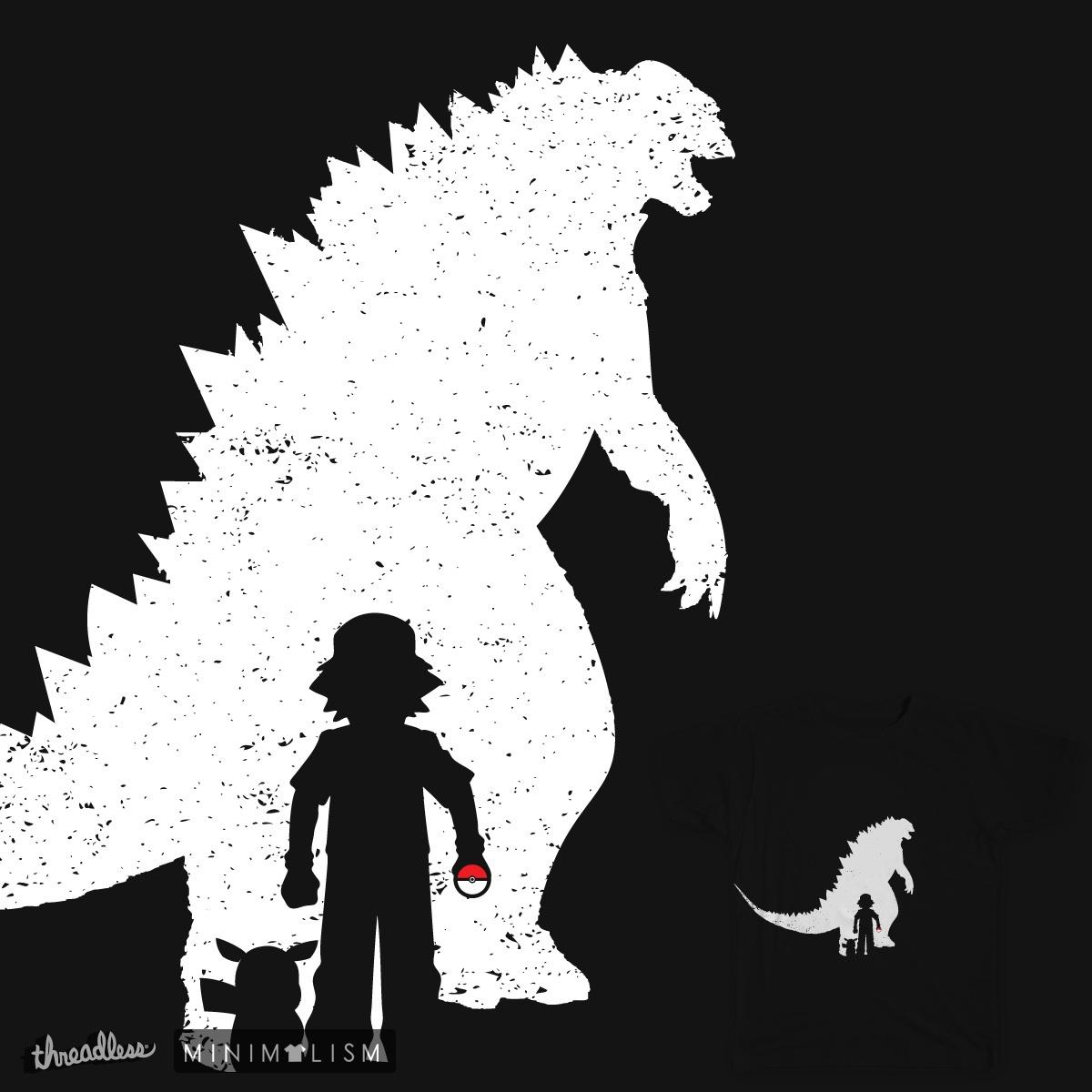Wild Godzilla by daletheskater on Threadless