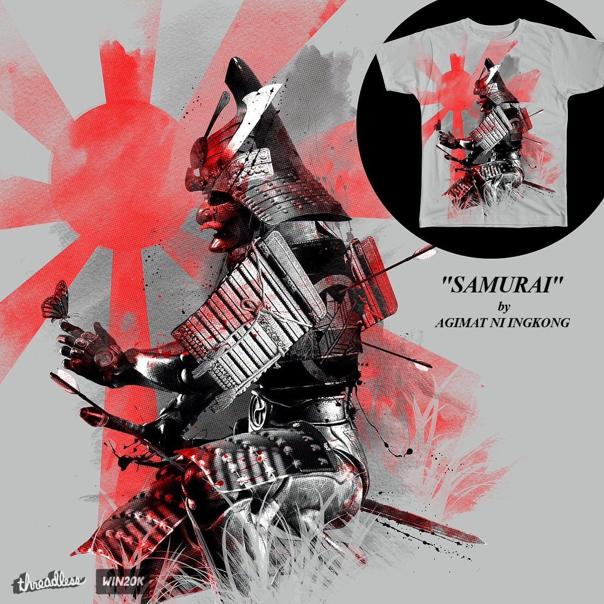 LAST SAMURAI by Agimat ni Ingkong on Threadless