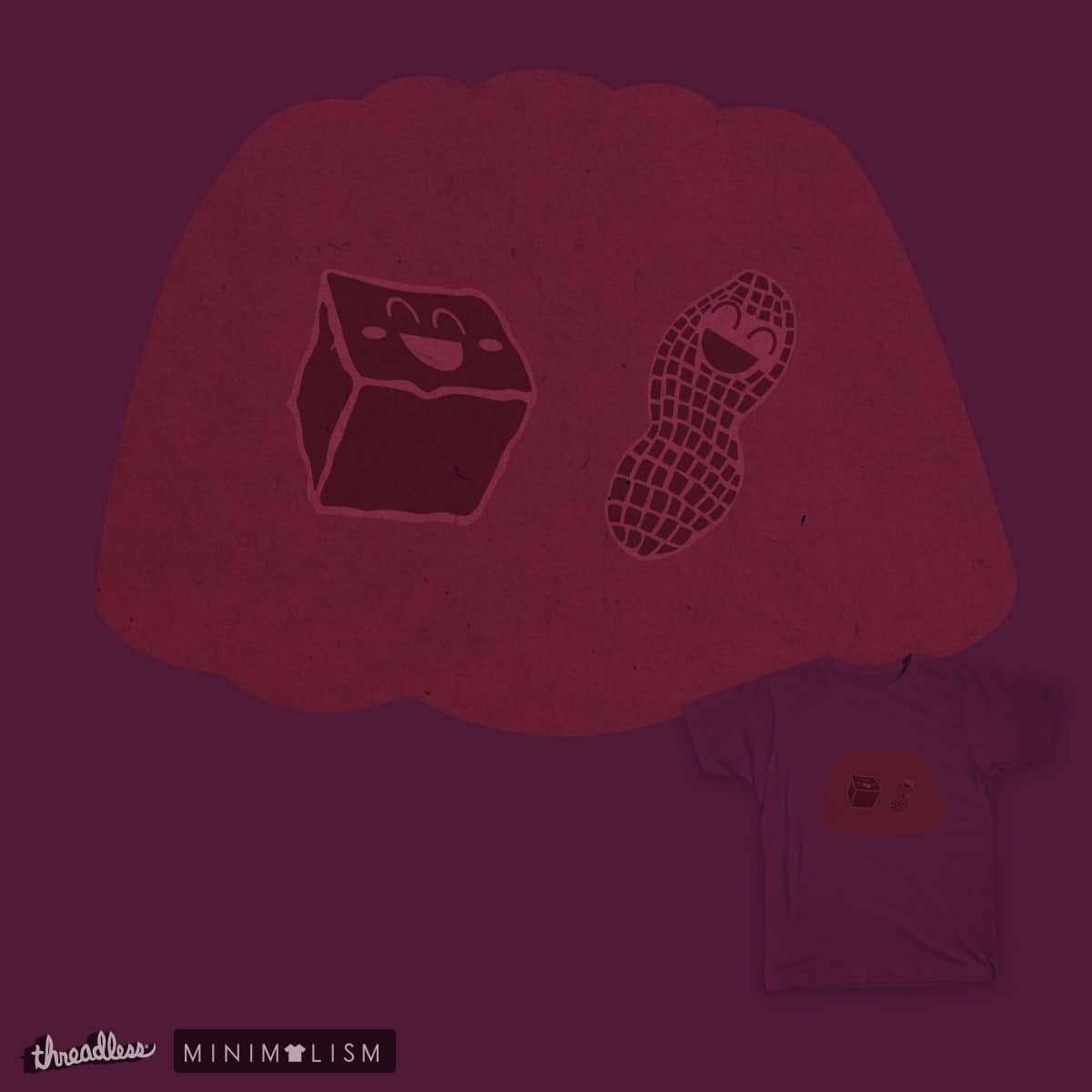 Peanut Butter Jelly by Pancake_Panda on Threadless