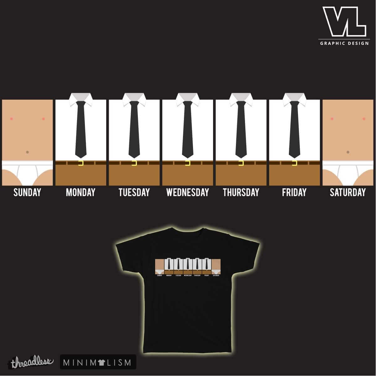 Man Week by vectored_life on Threadless