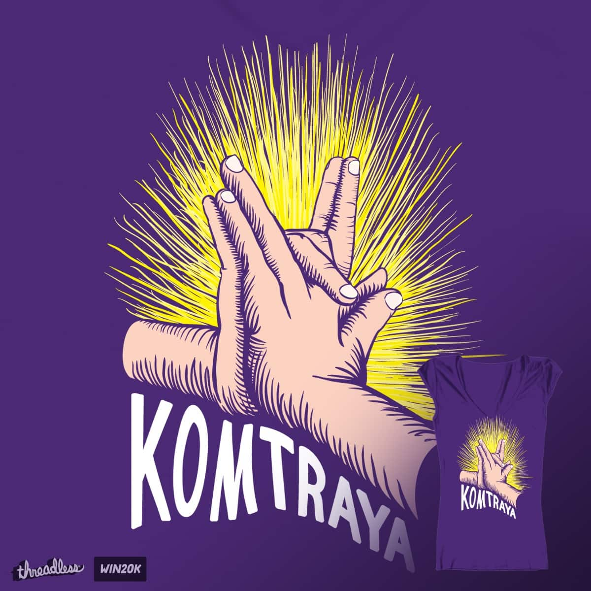 Komtraya by jvervaeck on Threadless