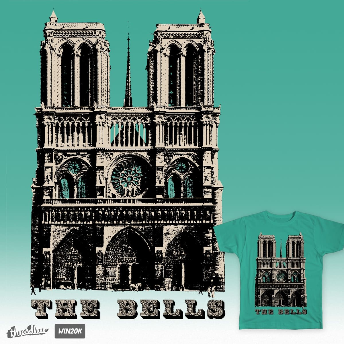 The Bells! by starpoke on Threadless