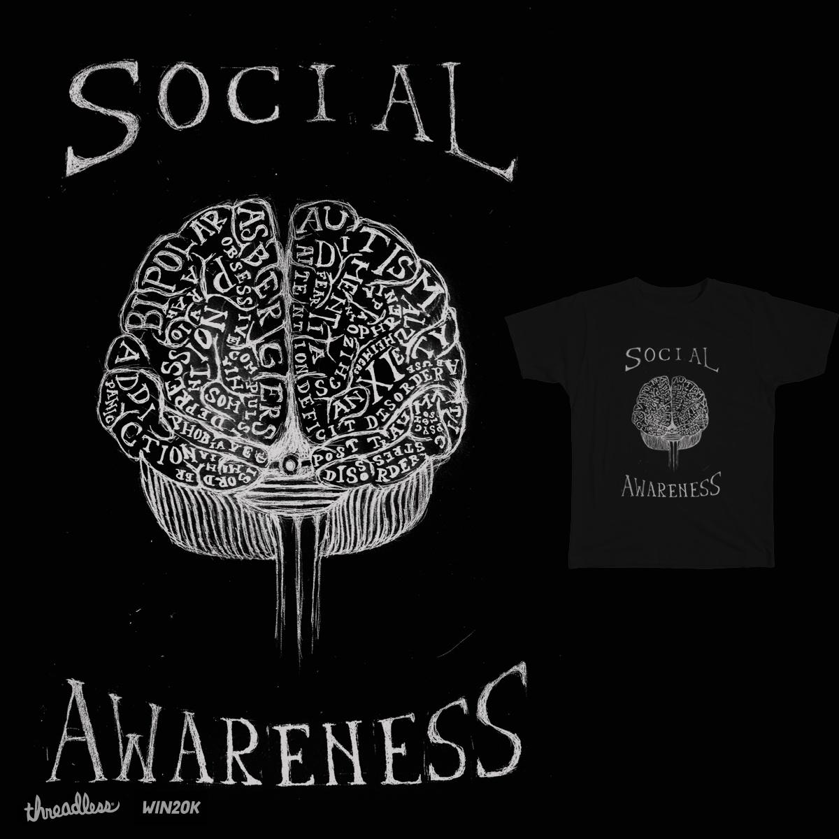 Social Awareness by TRYBYK on Threadless