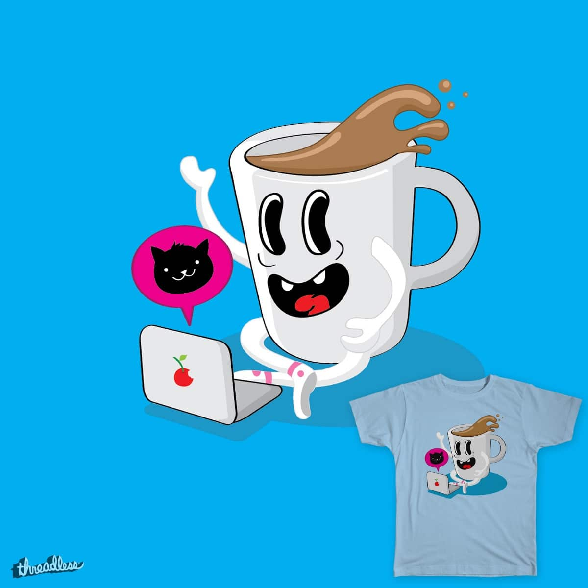 MugsyLovesCats by guillo80 on Threadless