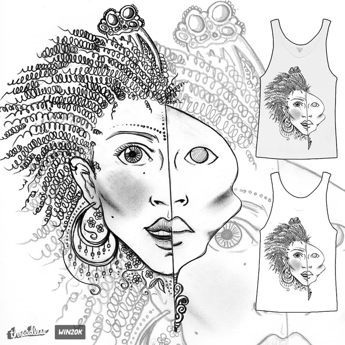 Expression by Adelai on Threadless