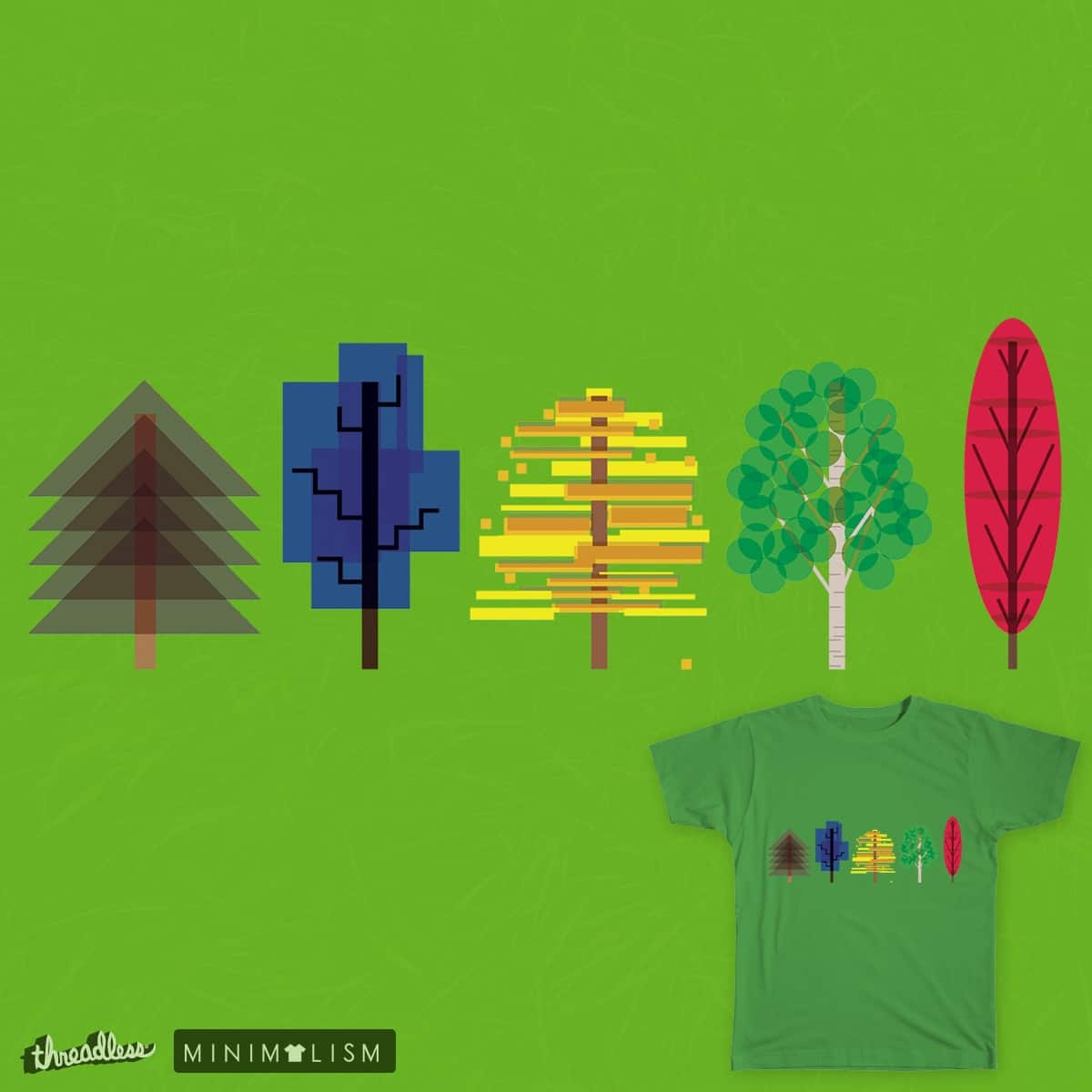 Natural shapes by Mellowmann on Threadless