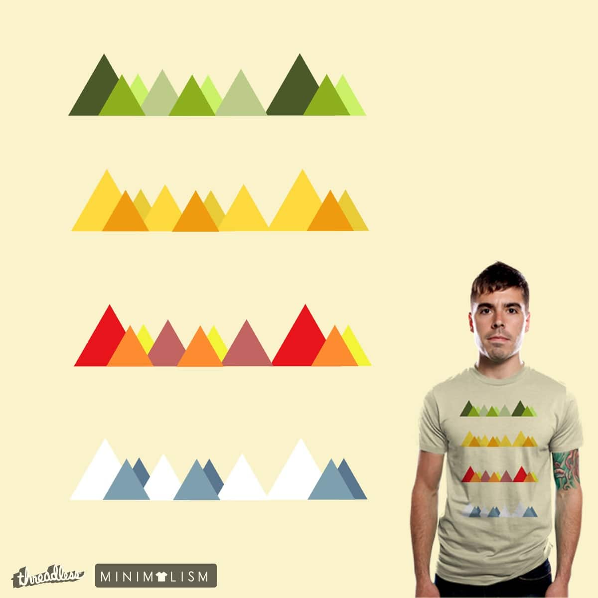 Four Seasons by bandy on Threadless