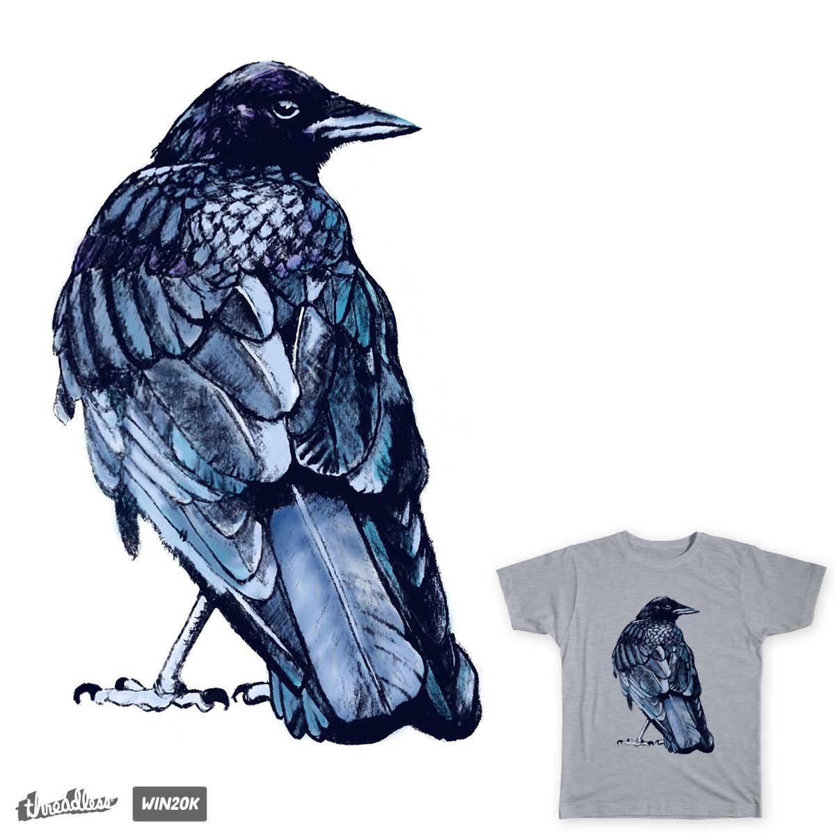 Dirty Crow by DettaT on Threadless