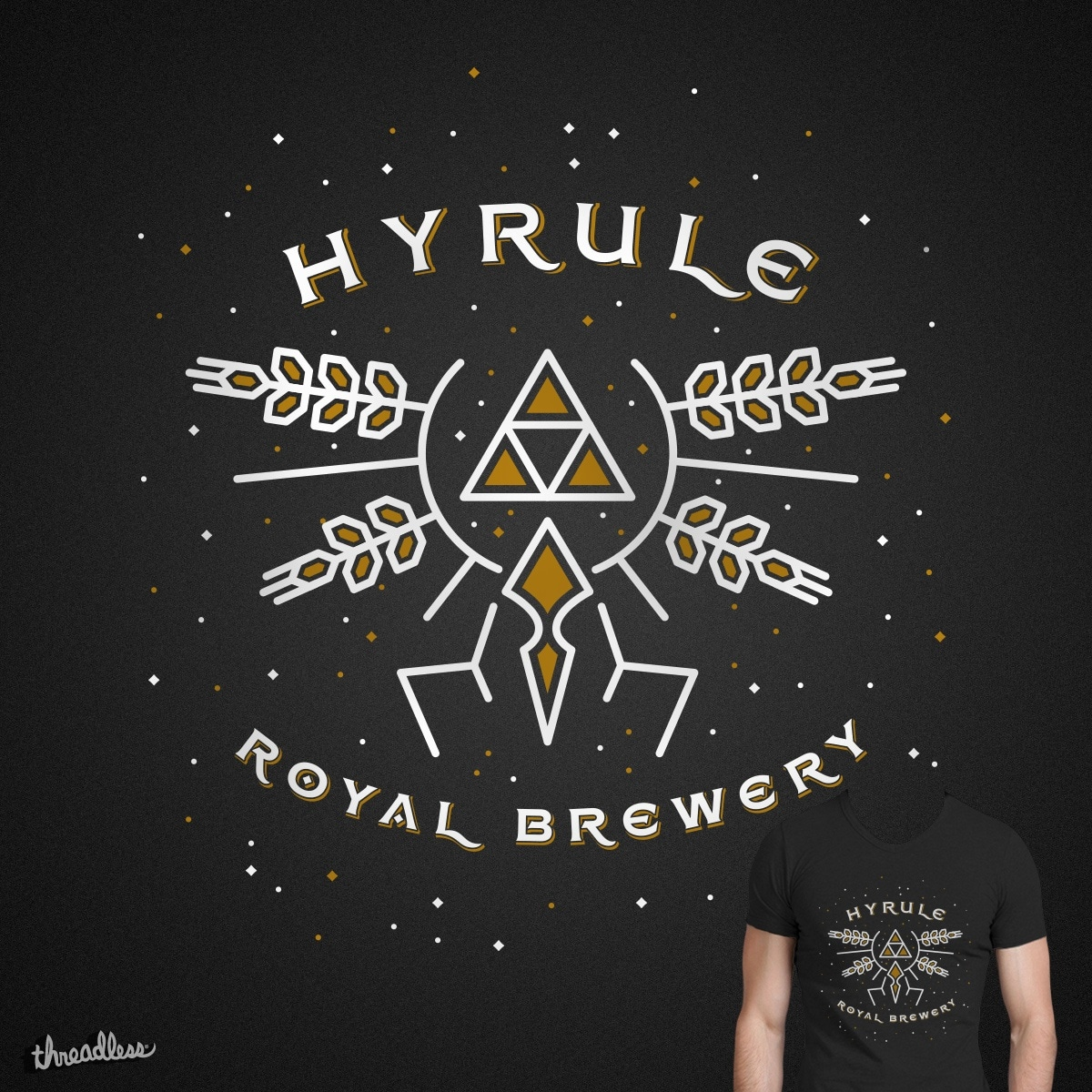 HYRULE ROYAL BREWERY by tugrulpeker on Threadless
