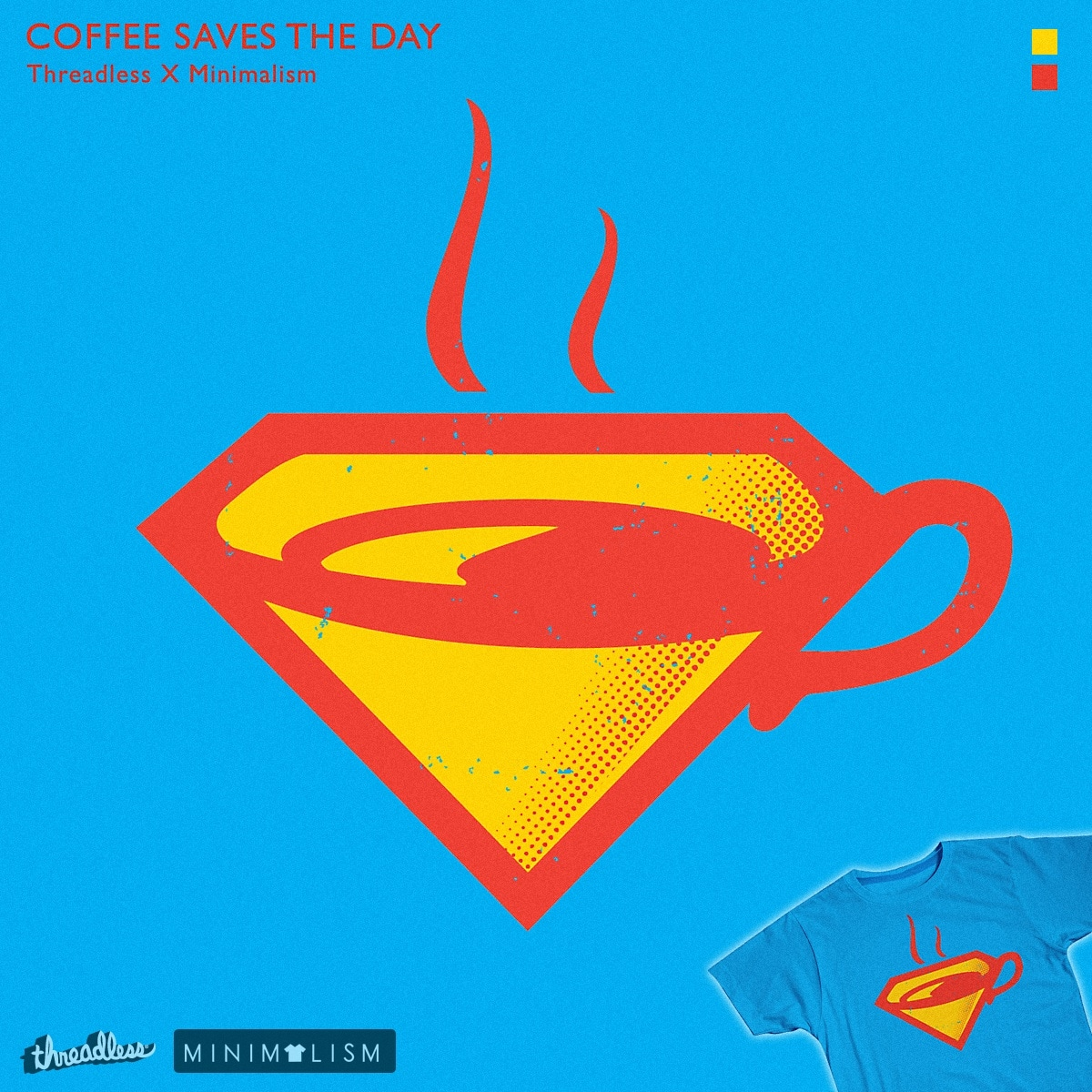 Coffee Saves The Day! by rhobdesigns on Threadless