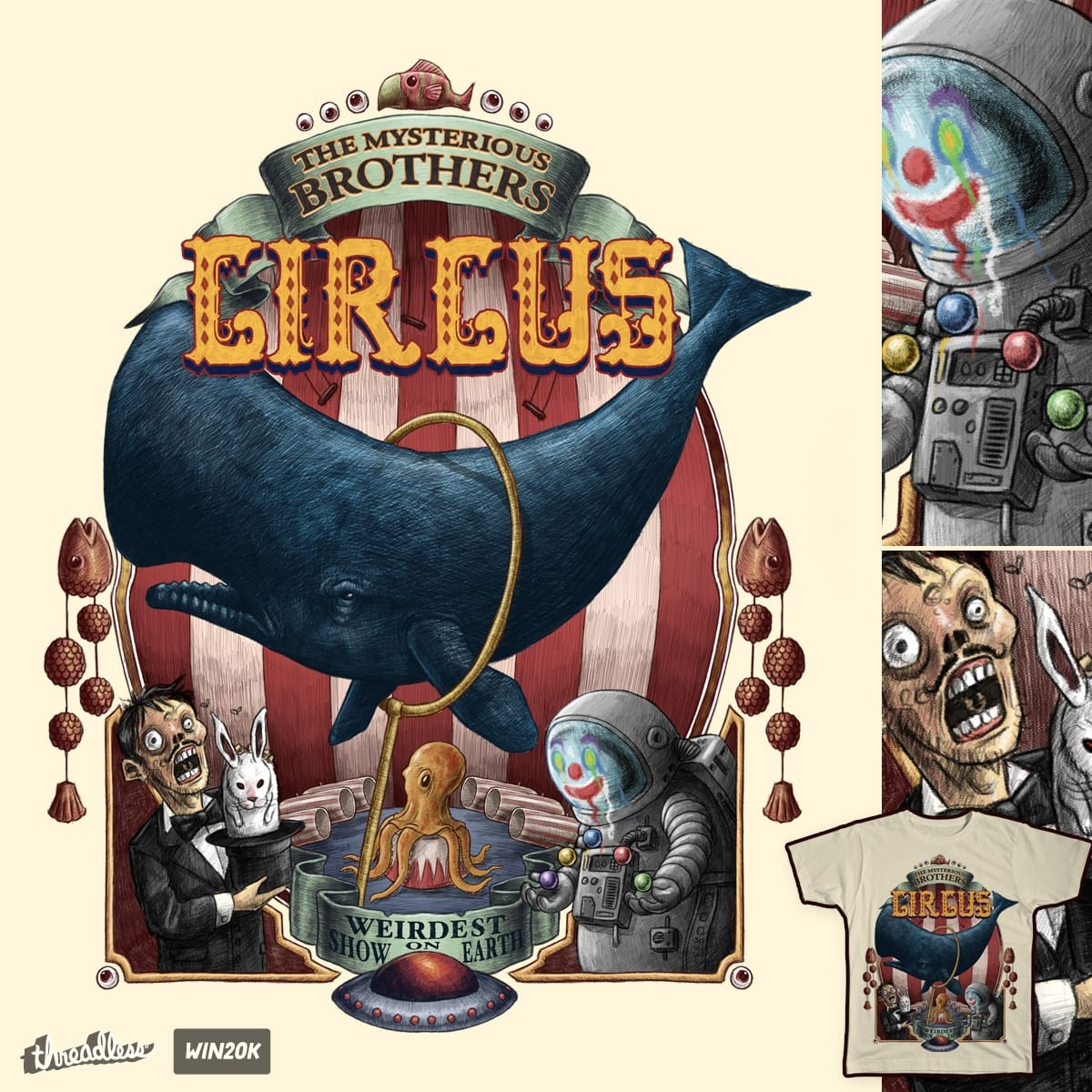 The Circus by salihgonenli on Threadless