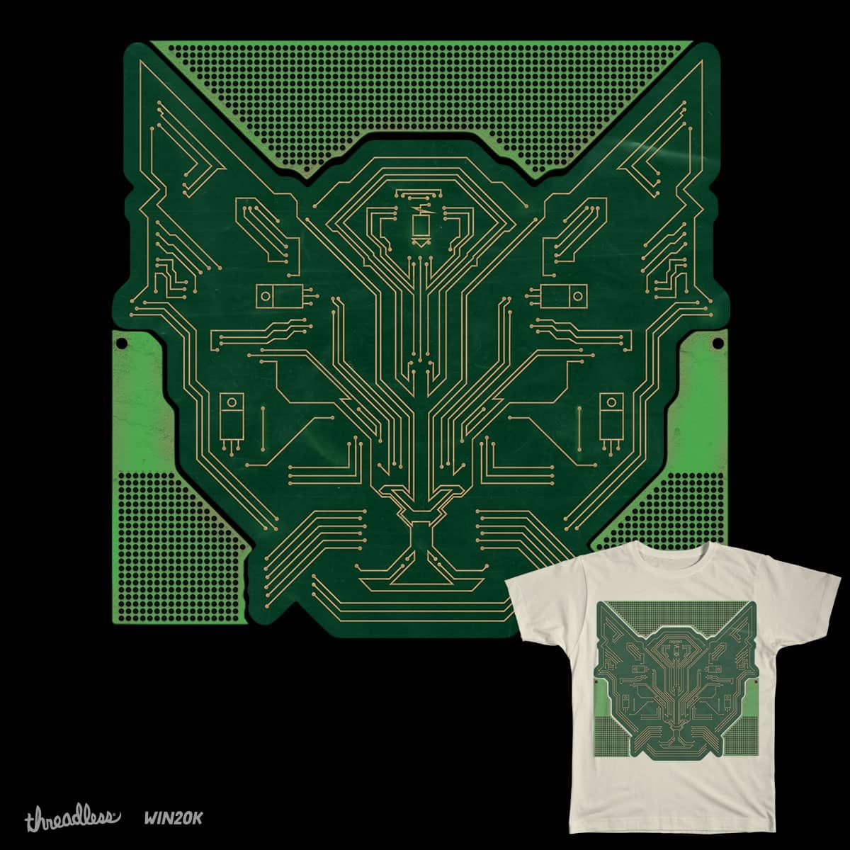 Siamese PCB by Weeble_wobble on Threadless