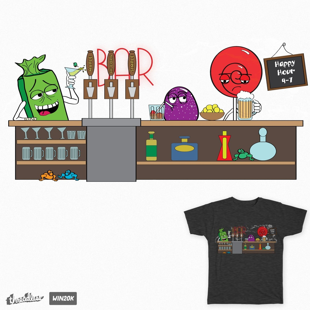 Candy Bar by SpidErichMan on Threadless