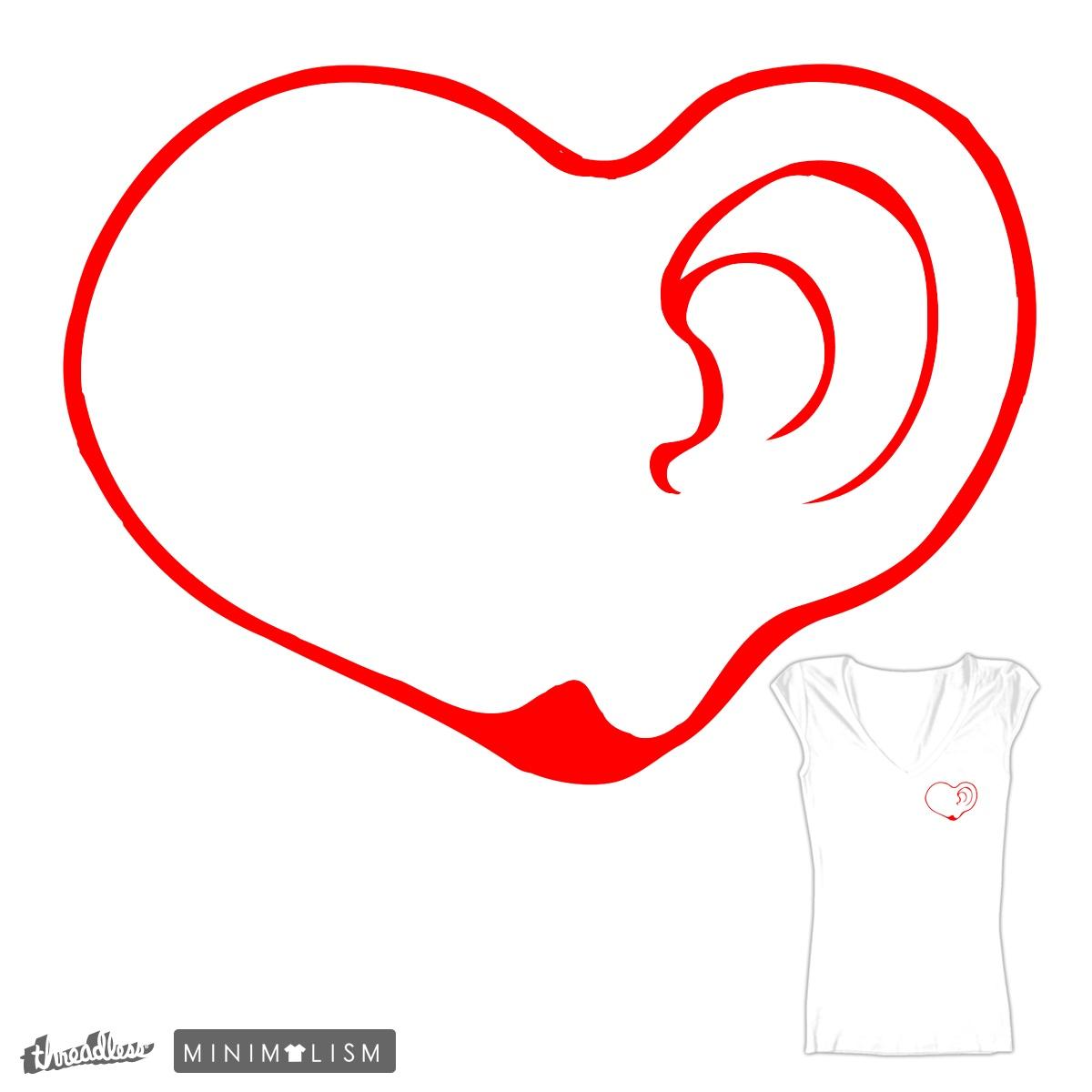 Hearing Heart by stjepan on Threadless
