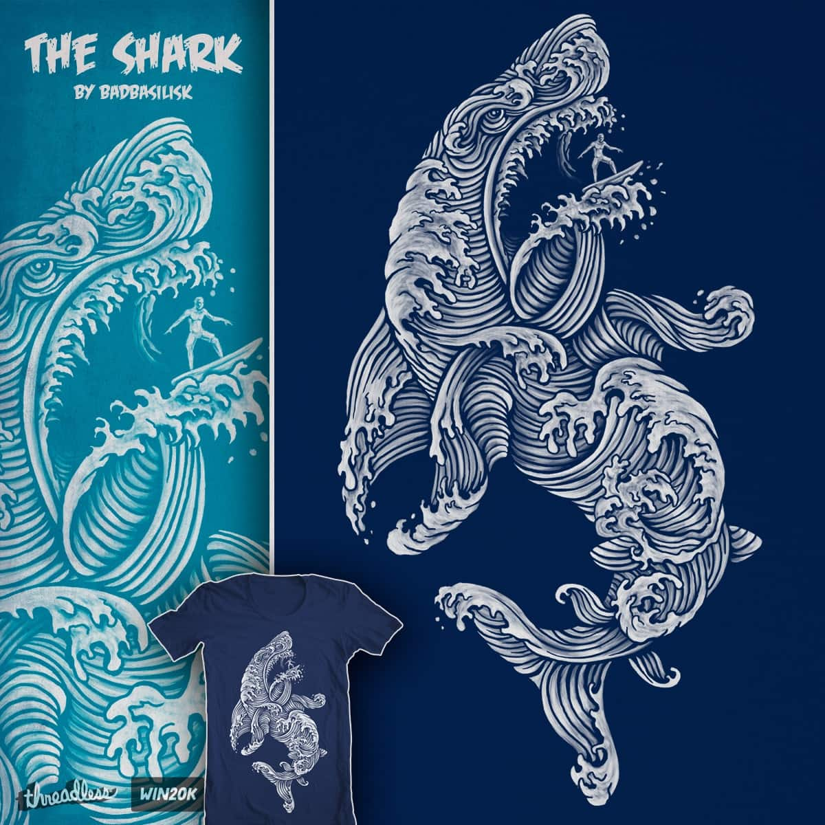 The Shark by badbasilisk on Threadless