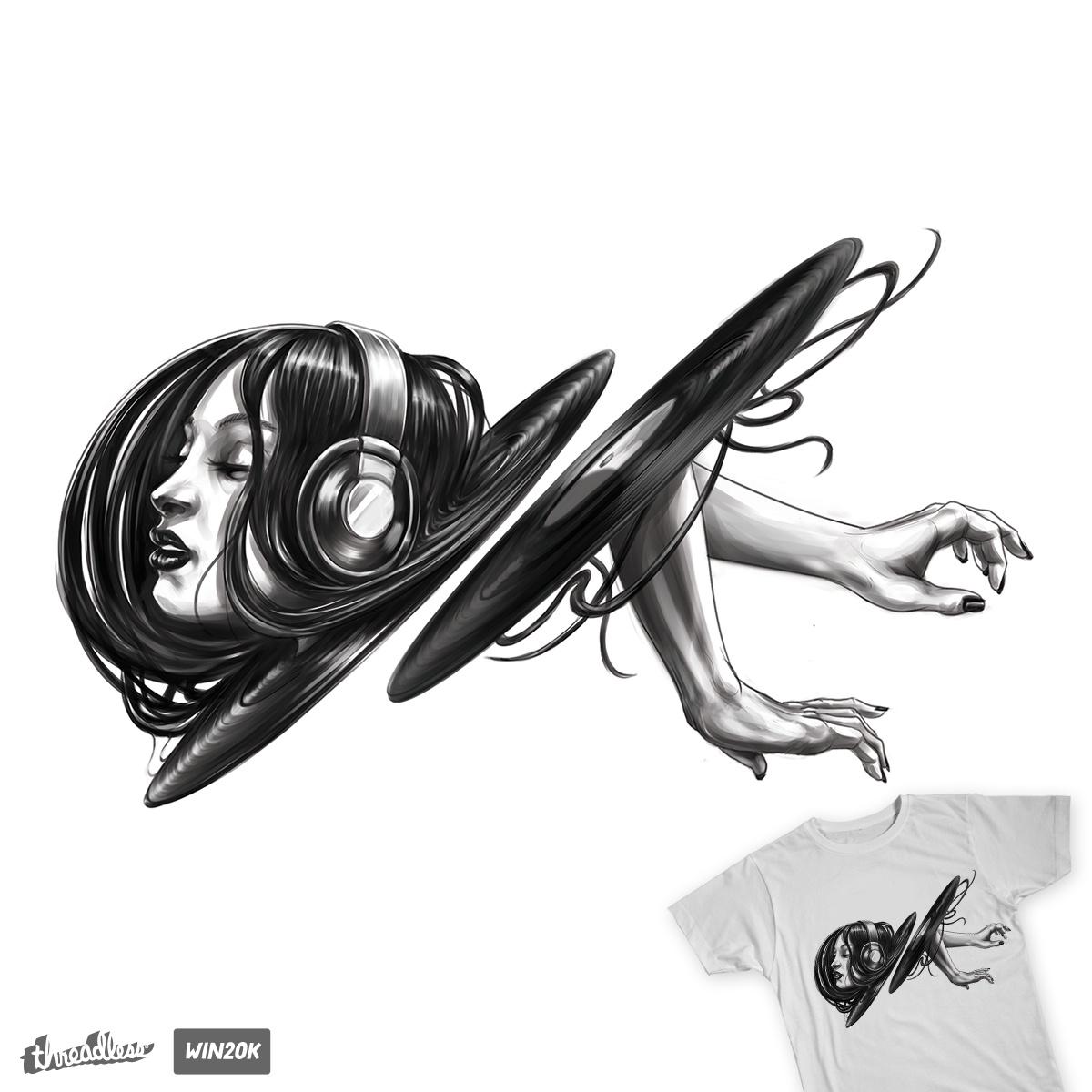 Vinyl Portal by jamesoreilly on Threadless