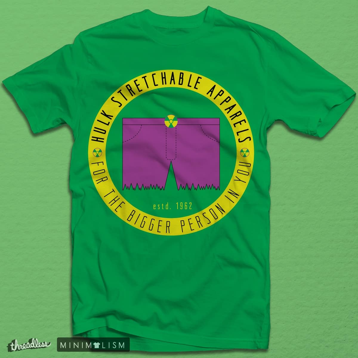 Hulk Stretchable Apparels by silent_warrior on Threadless