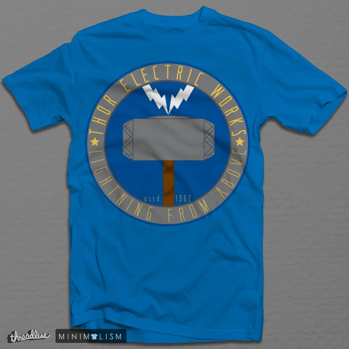 Thor Electric Works by silent_warrior on Threadless