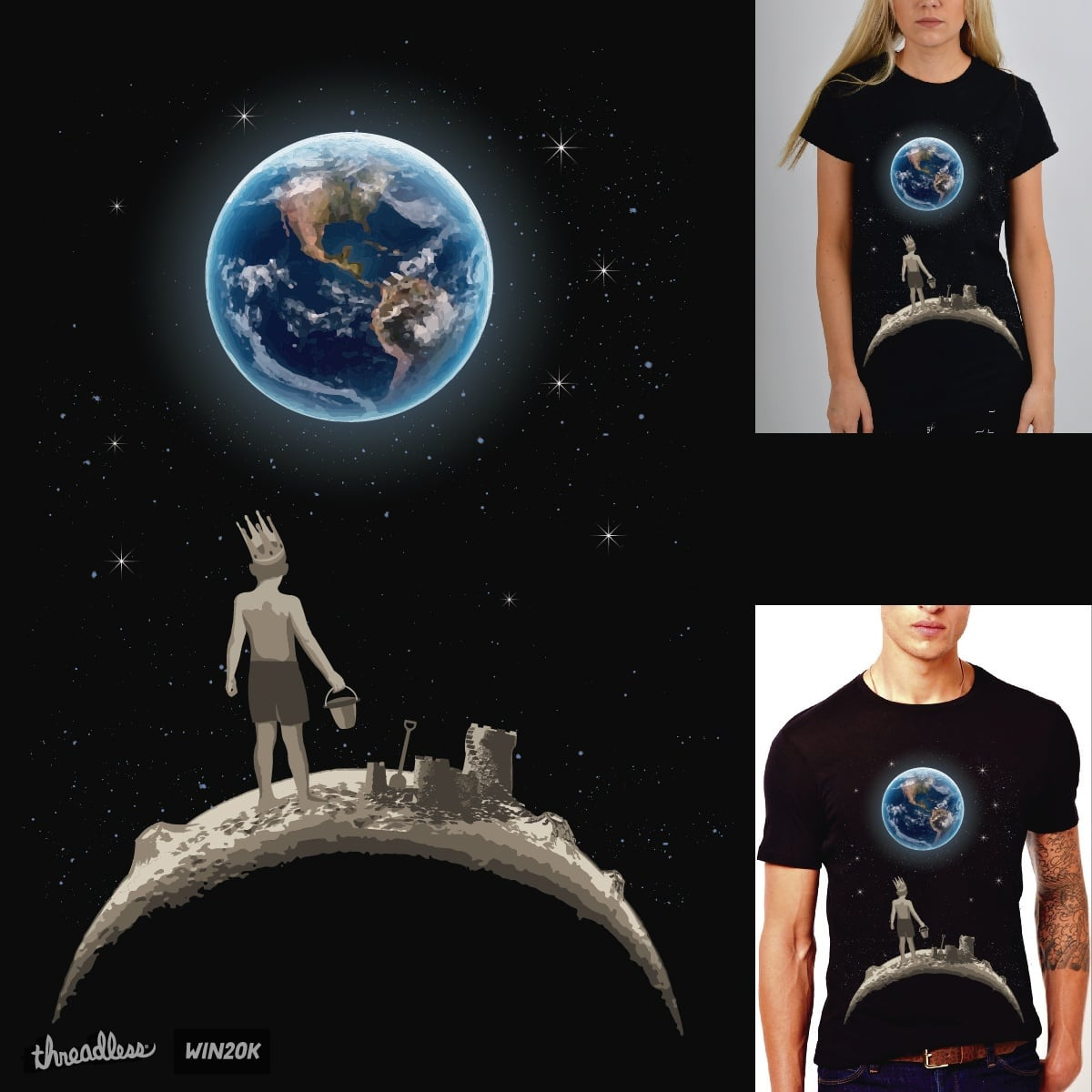 The Little Prince by IsmaelDesignSp on Threadless