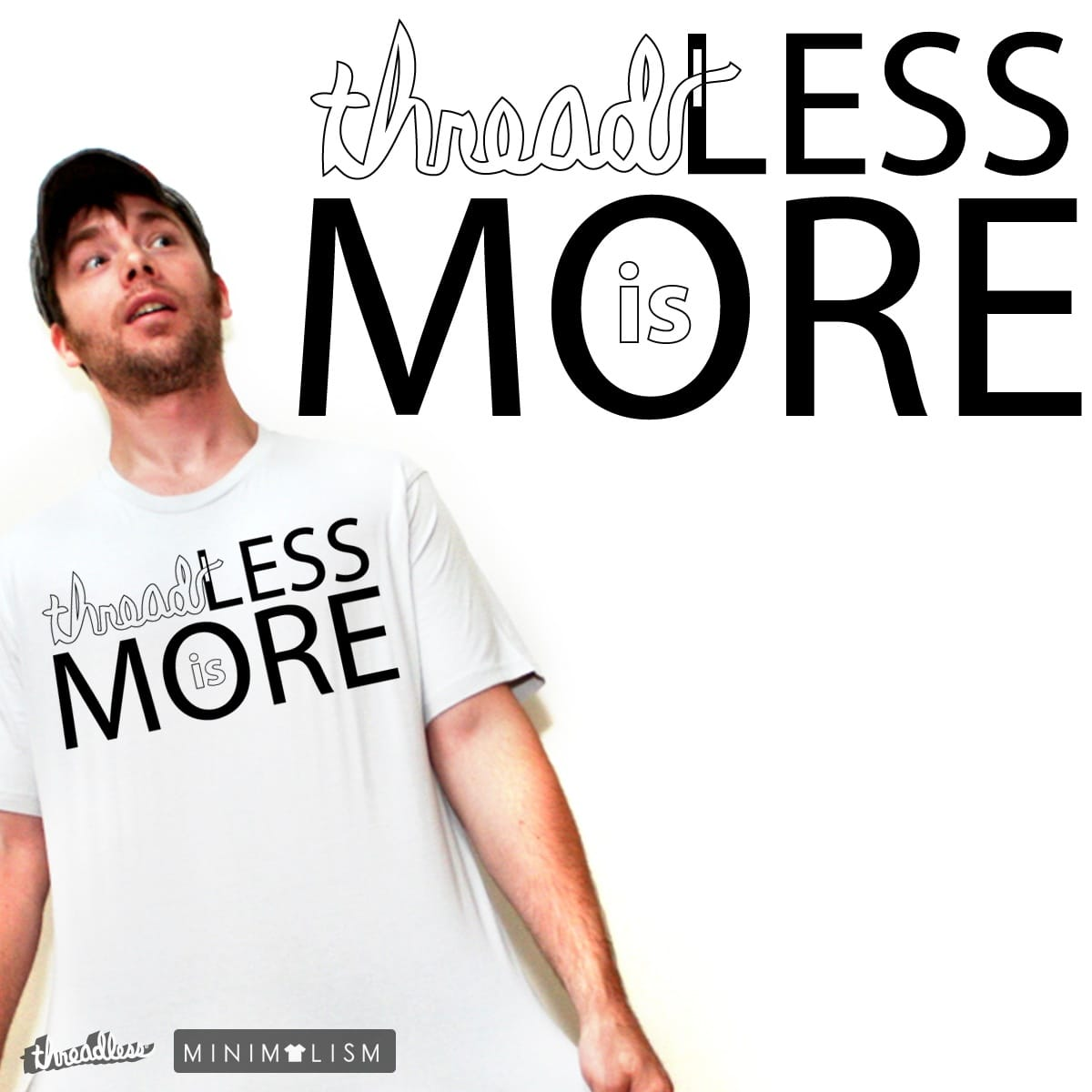threadLESS is MORE by mdelvalle731 on Threadless