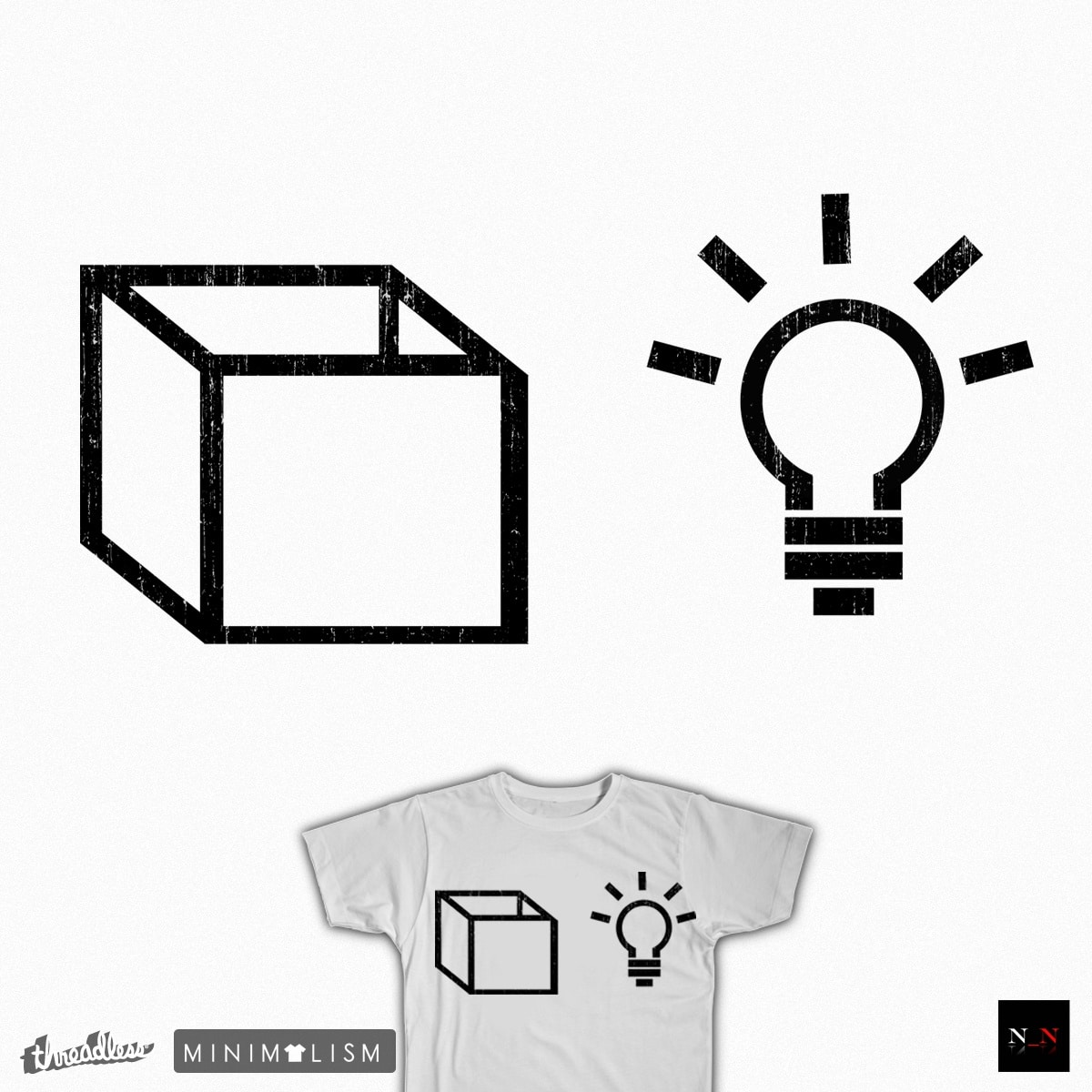 Outside the Box by Nick_Nightshade on Threadless