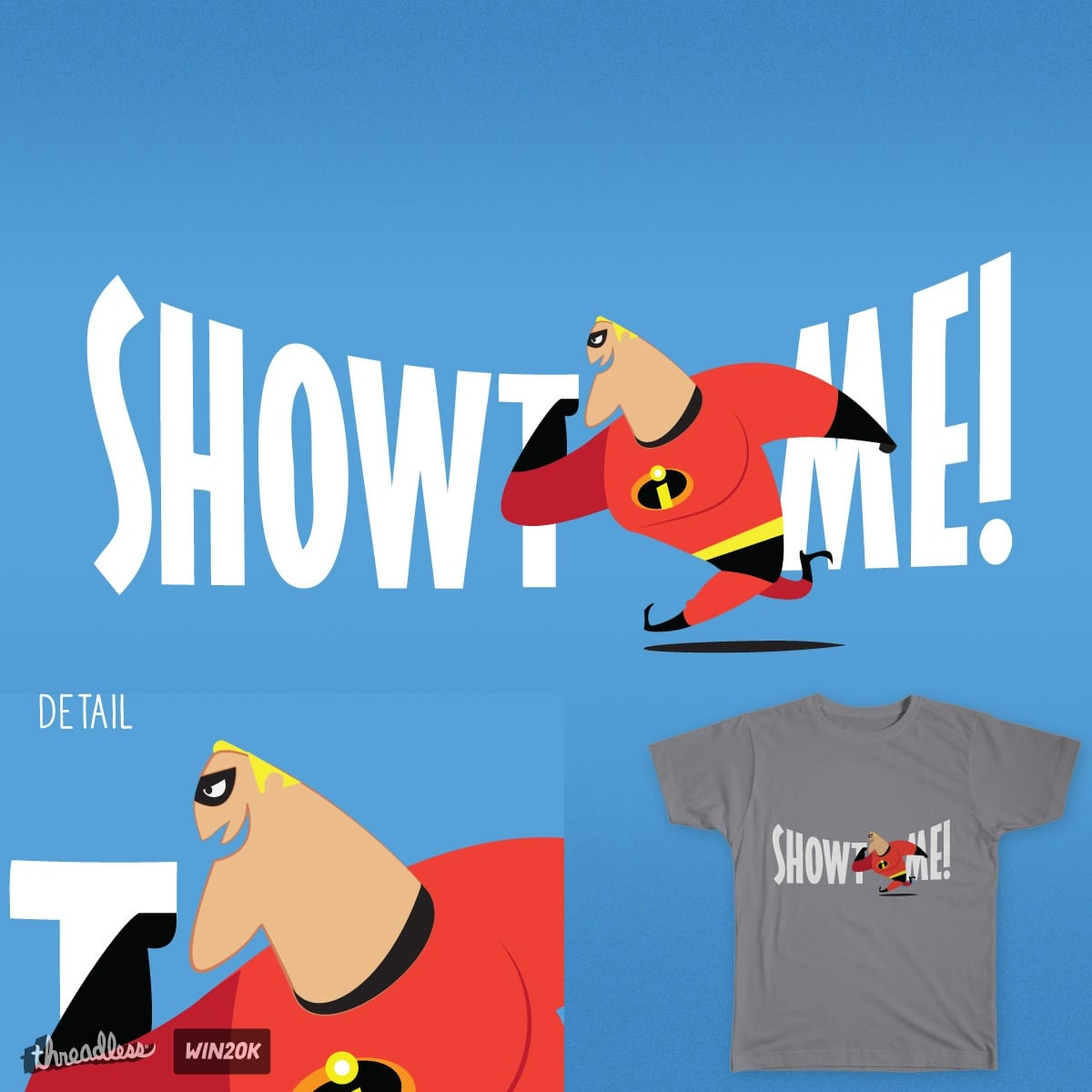 Showtime! by sonofeastwood on Threadless