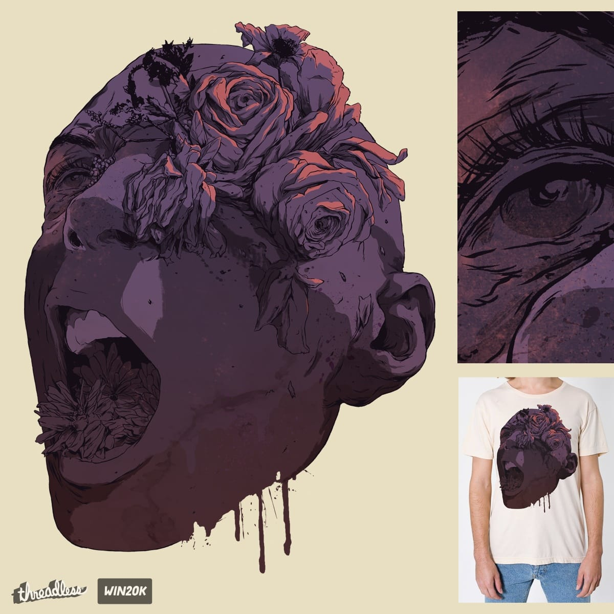 A Death By Natural Causes by hafaell on Threadless