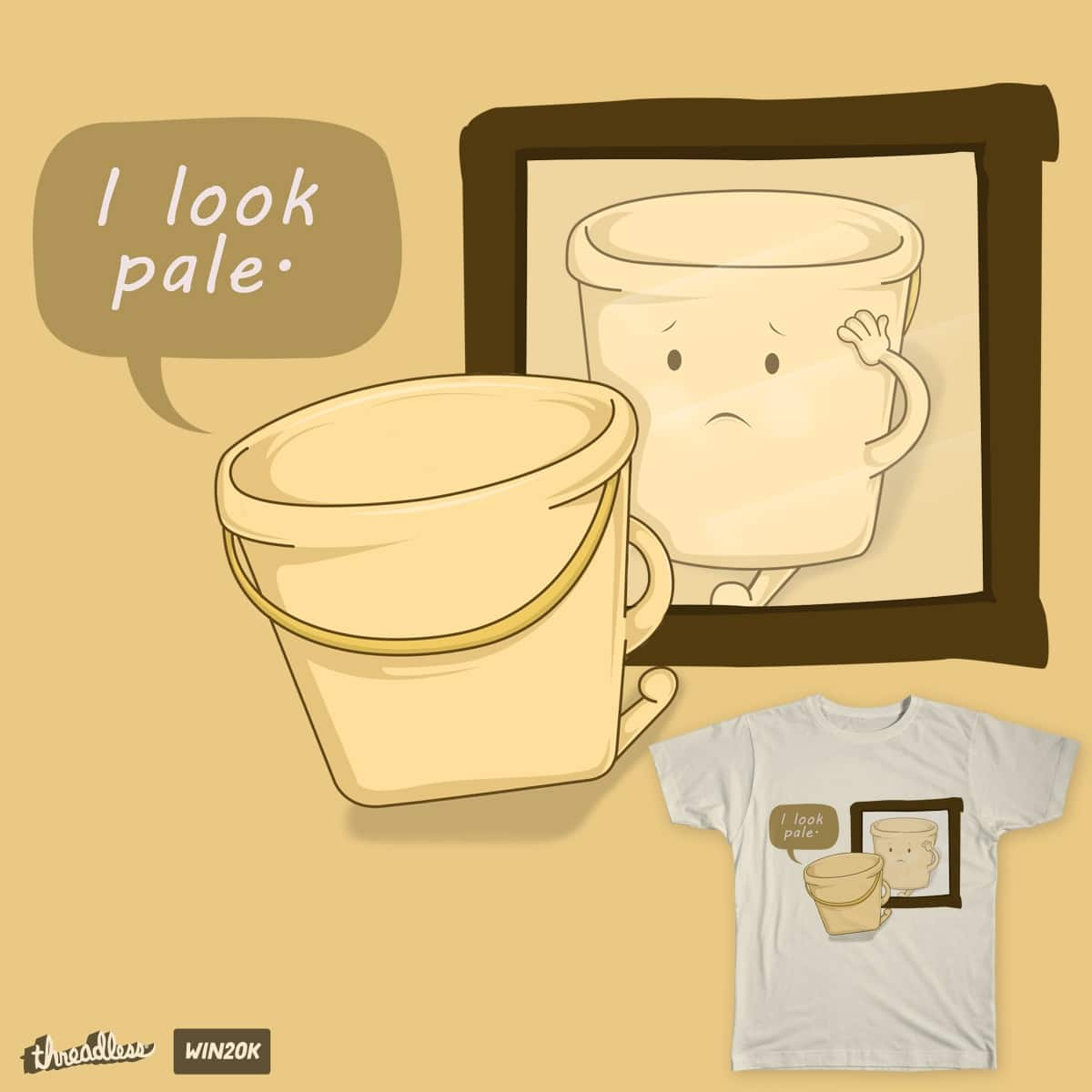 I look pale by Janry on Threadless
