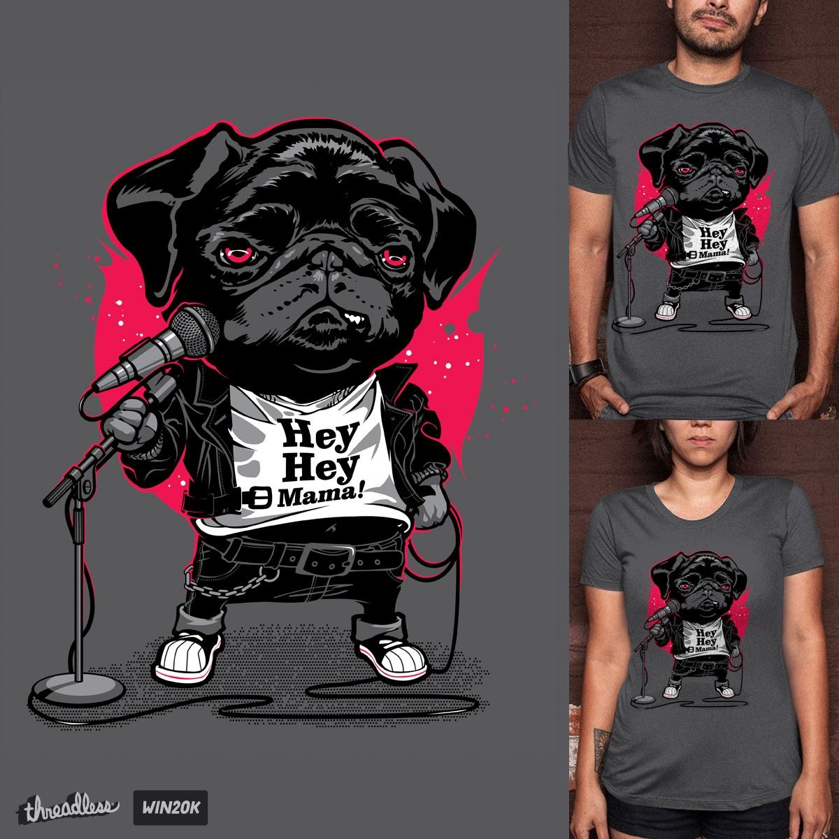 Black Dog by DracoImagem.com on Threadless