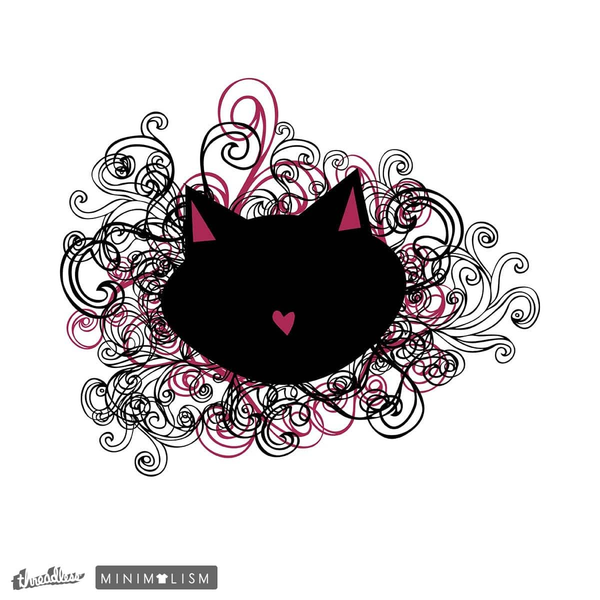 Cat Luv by melbee123 on Threadless