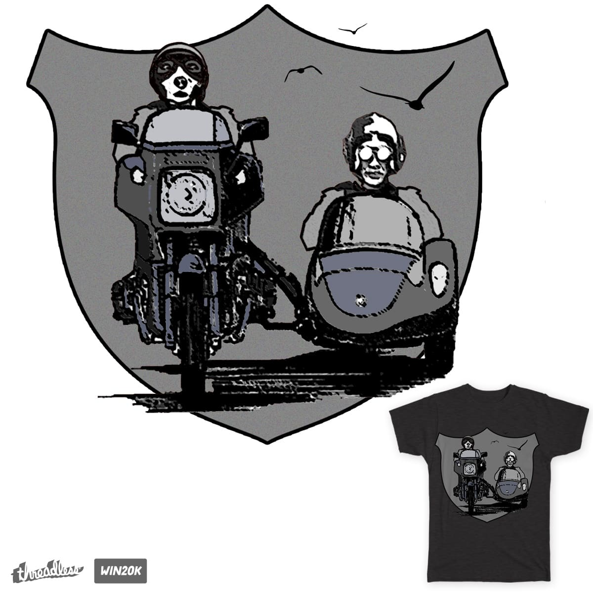 THe adventures of eight legs and a tail by AvinashBhatU on Threadless