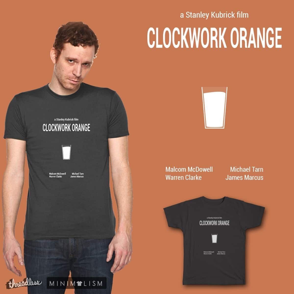 Clockwork Orange Minimal by ammooina on Threadless