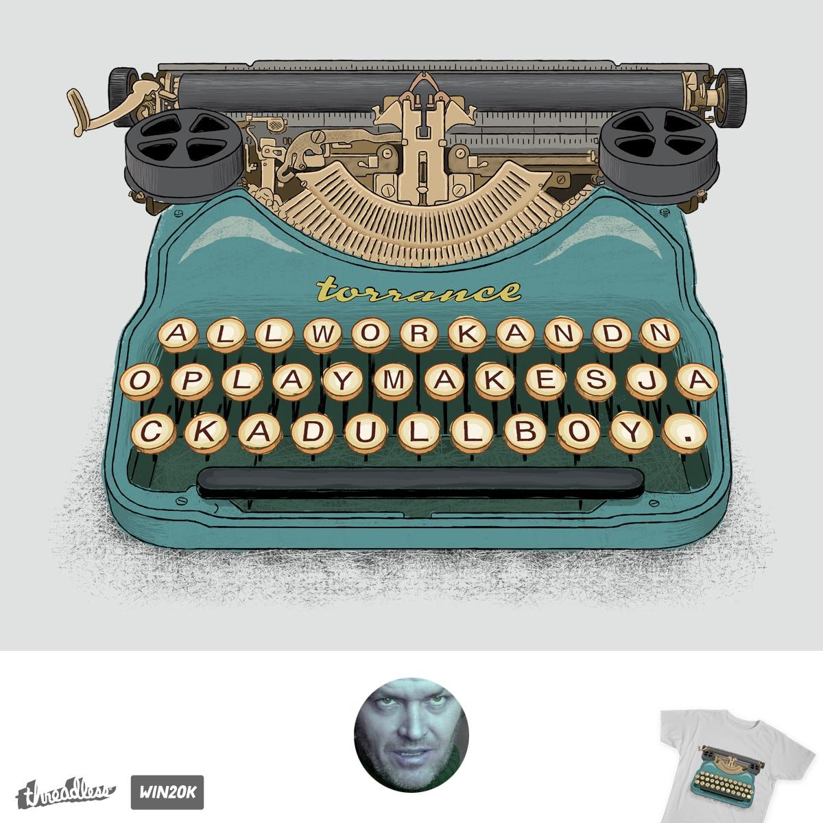 Writer's Block by Candy Guru on Threadless