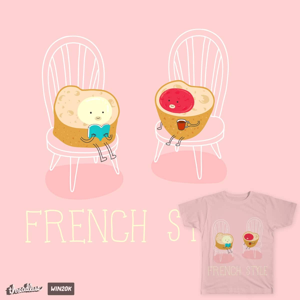 Fernch style by souriezamelie on Threadless