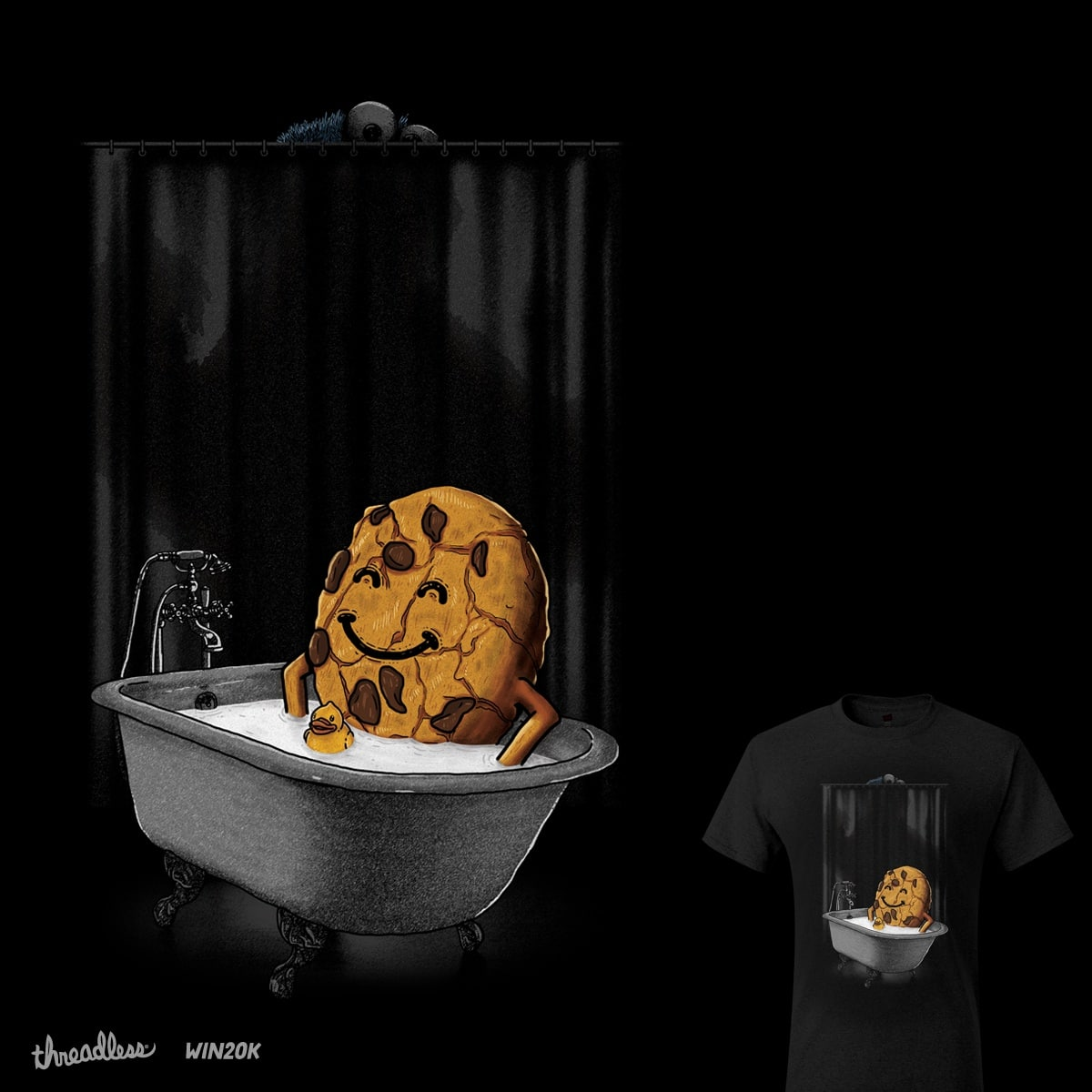 Psychotic Monster by eliude_valverde on Threadless