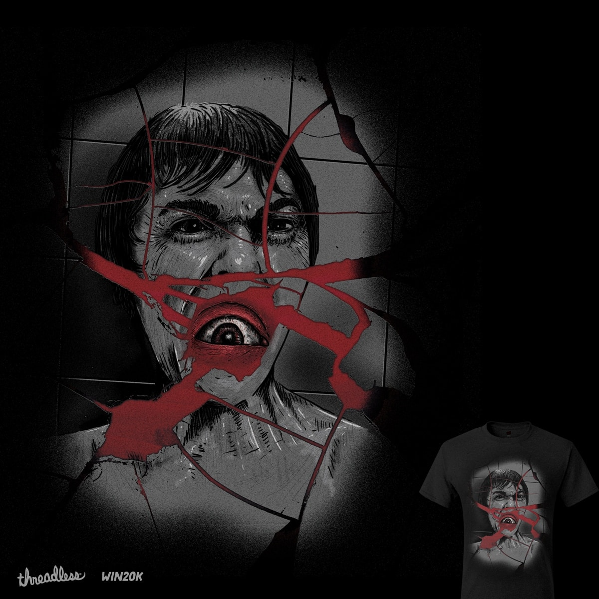Psycho by eliude_valverde on Threadless