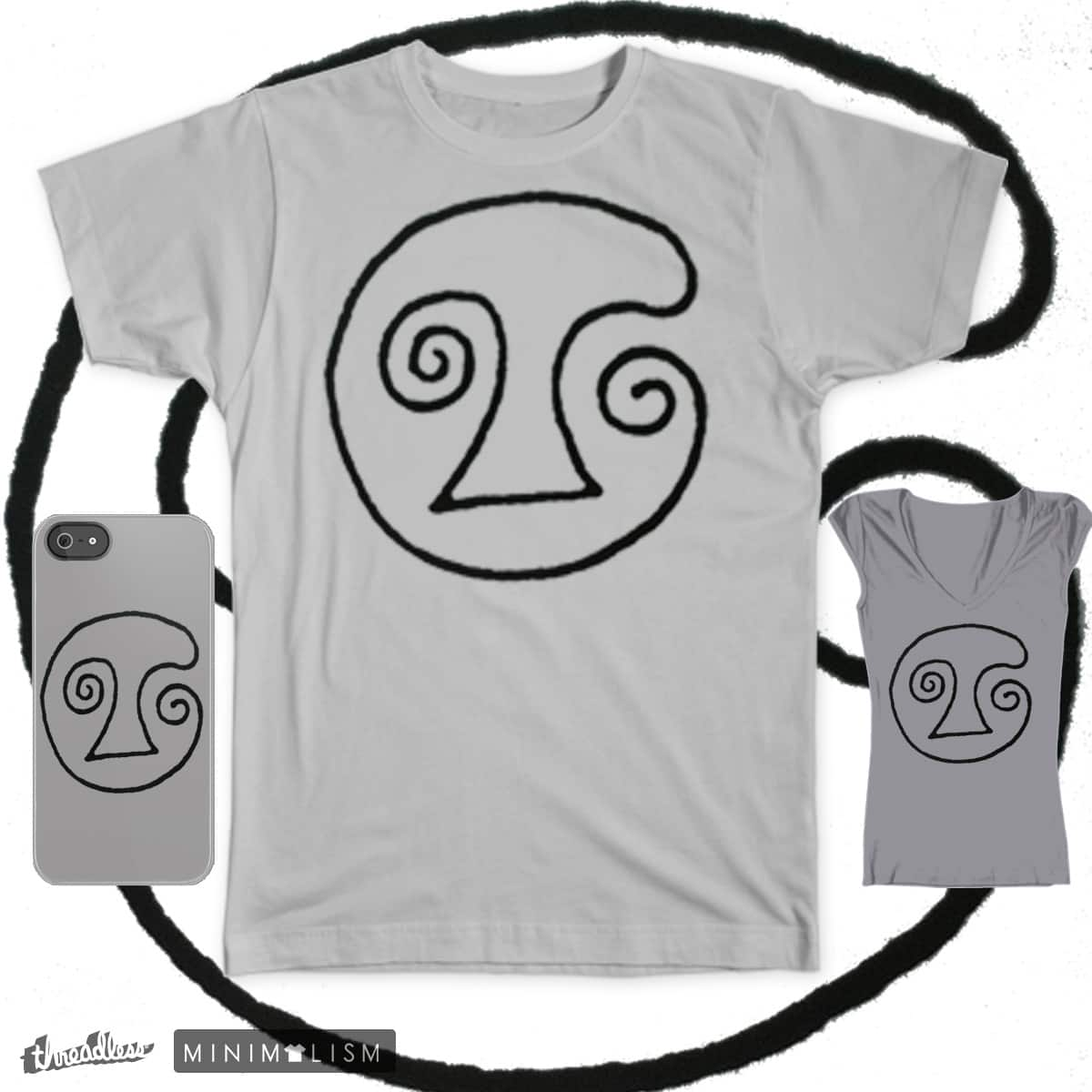 Ancient Smiley by Makrokosmos on Threadless