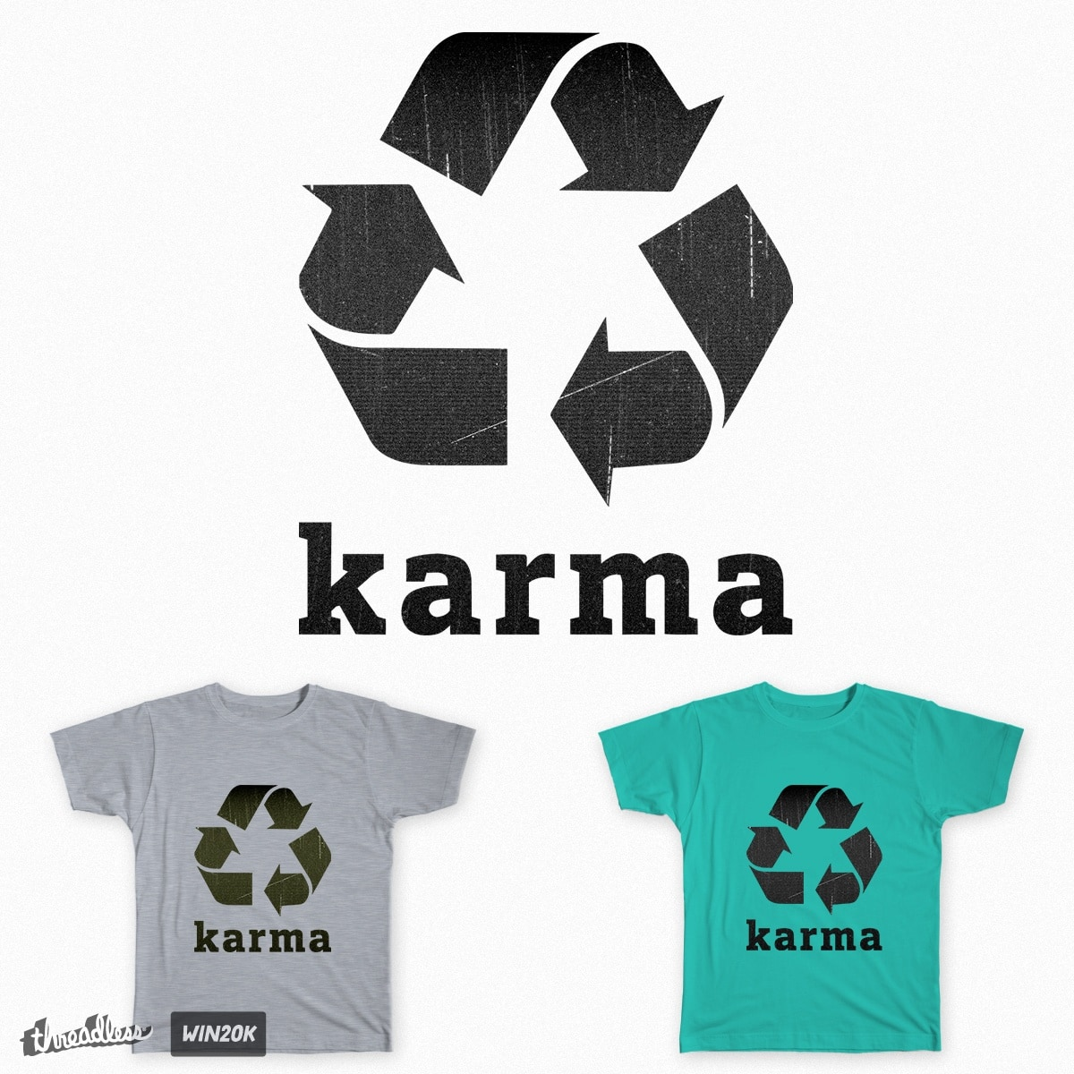 Karma by sarijones on Threadless