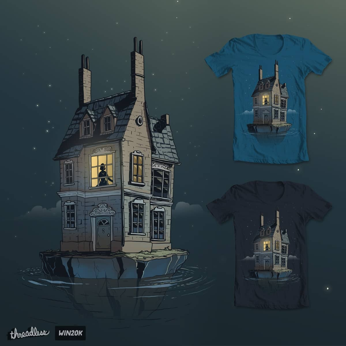 English House by Stirpel Gonzales on Threadless