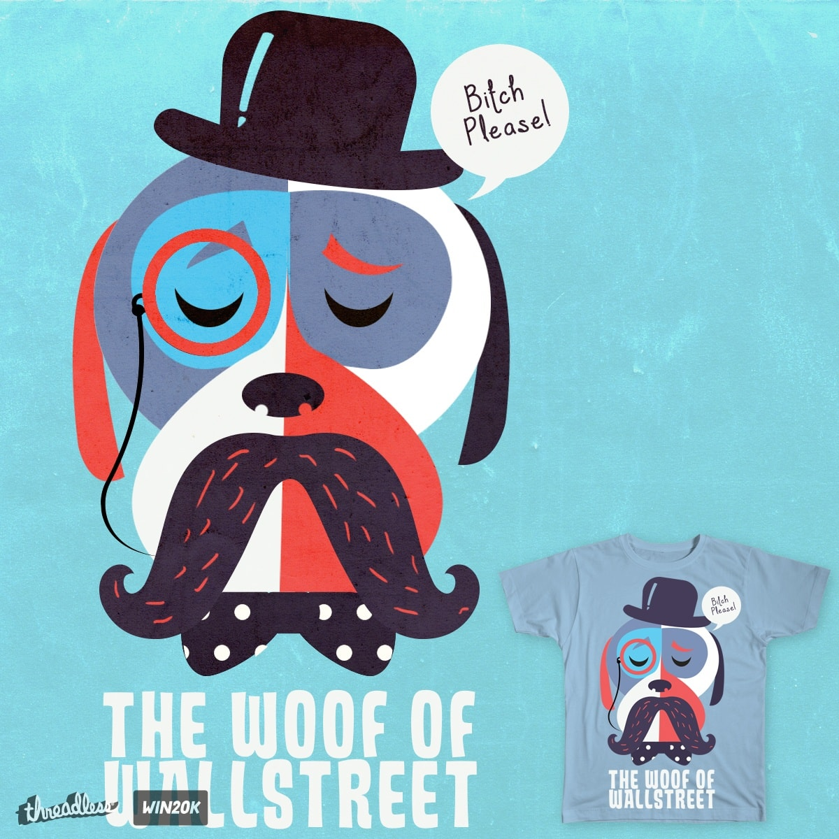 The Woof of Wallstreet by tcja on Threadless