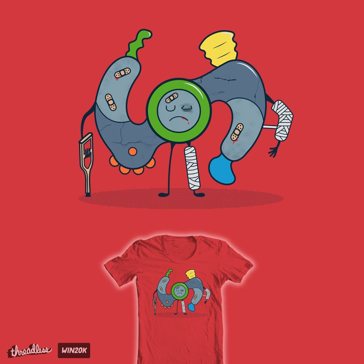 It's All Fun and Games... by Queeg500 on Threadless