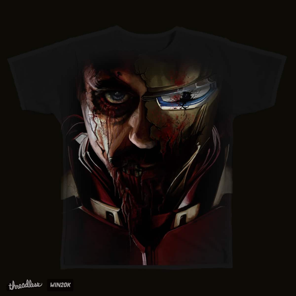 Iron Man Undead by jlsherer on Threadless