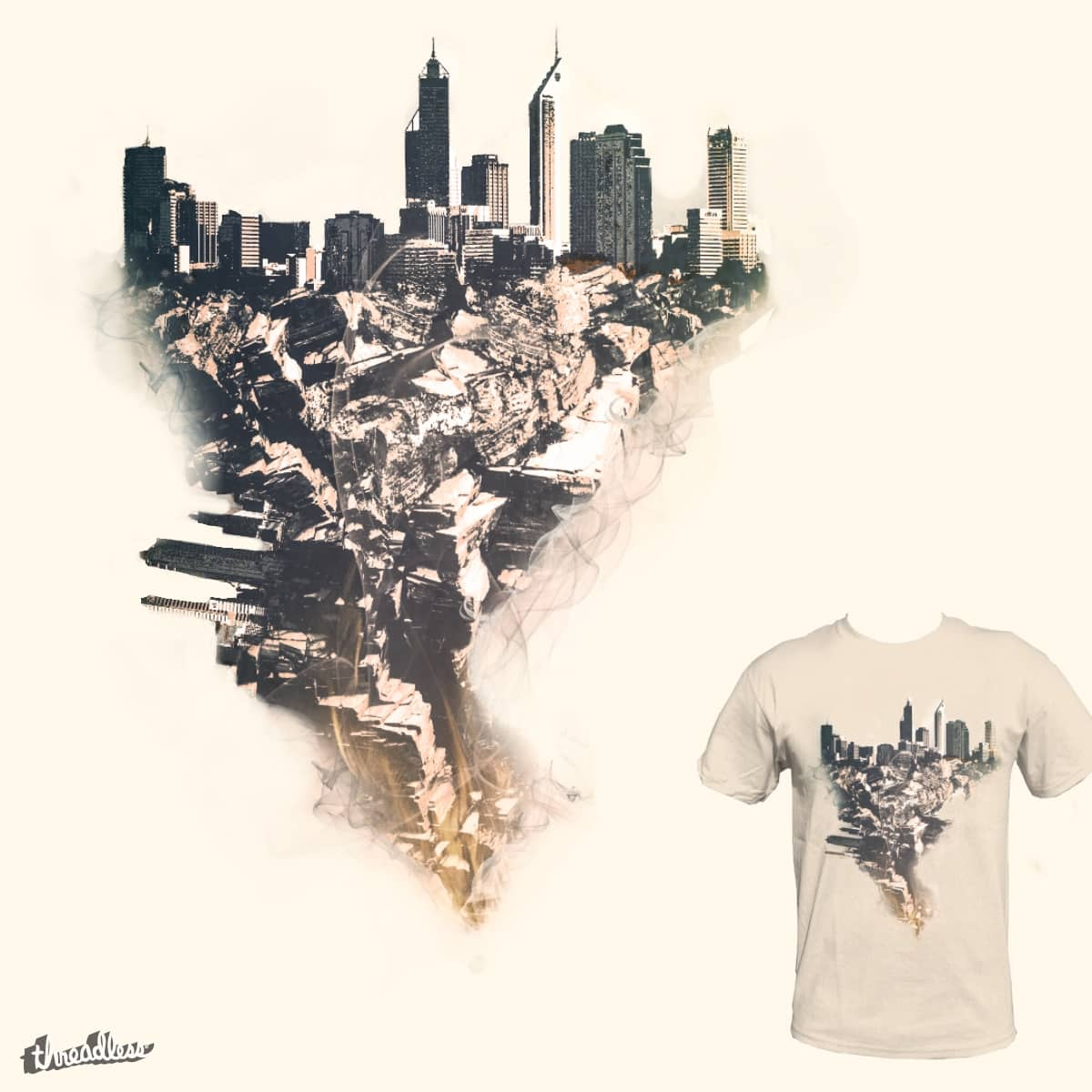 Smoked City by SylvanH on Threadless