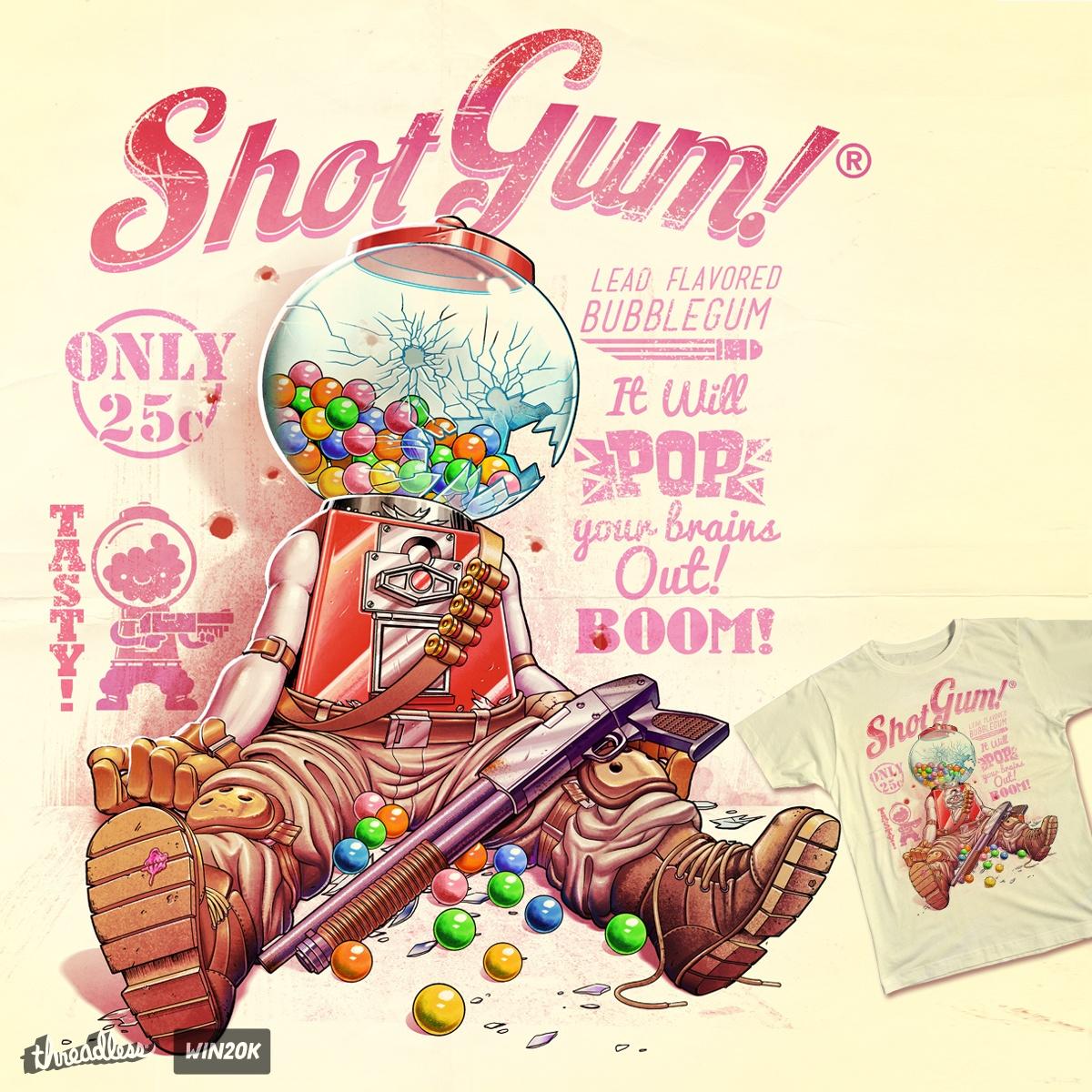 Shot Gum by andrefmuller on Threadless