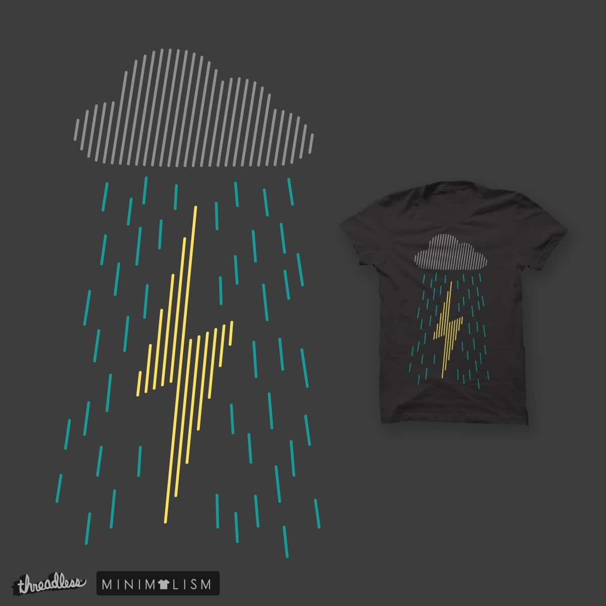 Line Storm by ccarretti on Threadless