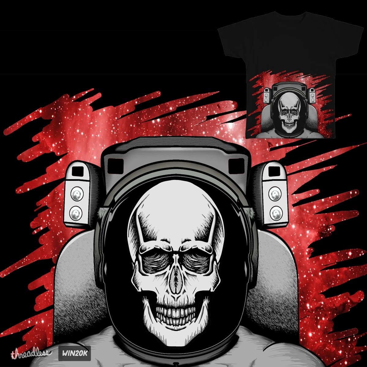 Space odyssey by Kre8ive1 on Threadless
