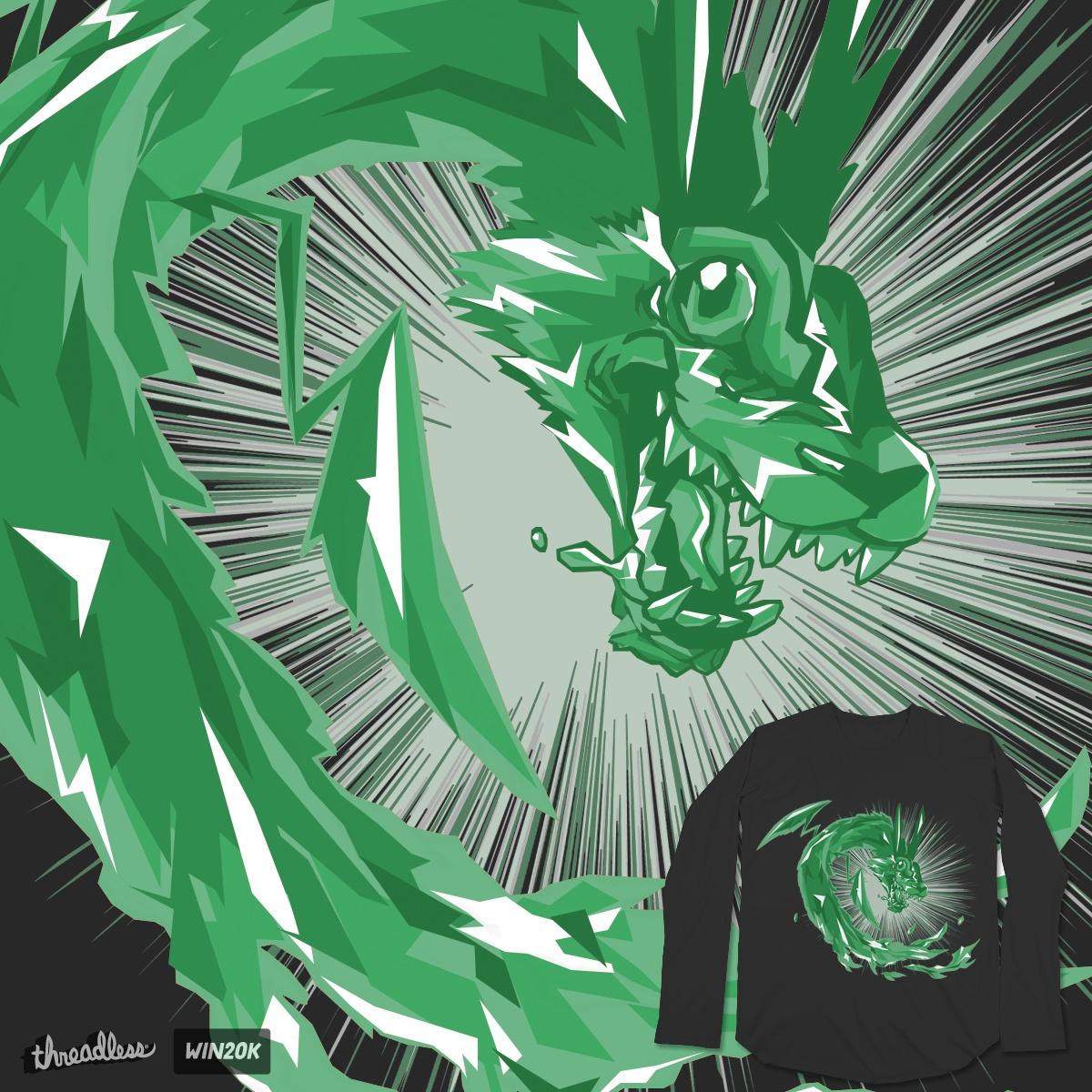 Soul of Jade Dragoon by frikkinmunki on Threadless